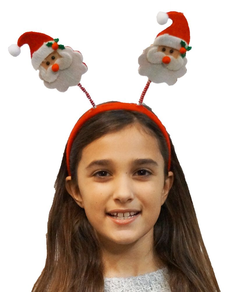 Santa Headband Holiday Party Headbands & Accessories Santa Hat Headband