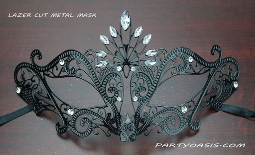 Nina Metal Masquerade Eye Mask