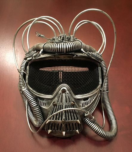 Orbital Gas Mask Silver