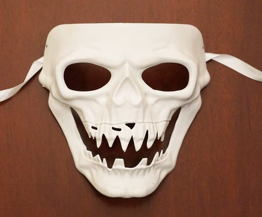 Paintable  Zombie Mask