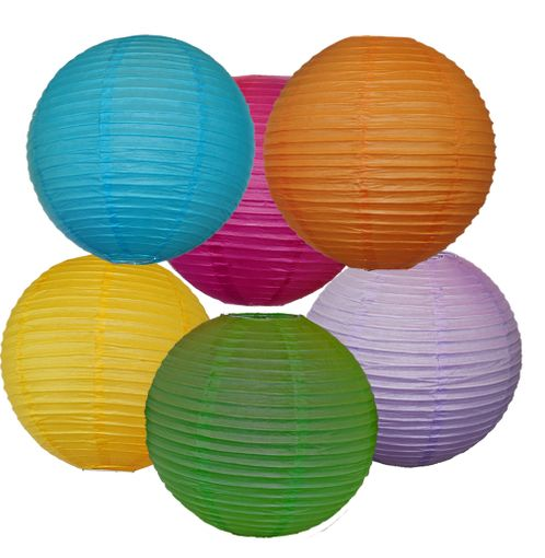 "Paper Lantern 12"" Party Pack"