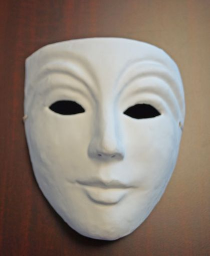 Paper Mache Theater Mask