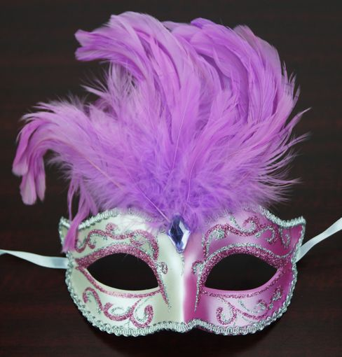 Patalone Feather Mask Lavender