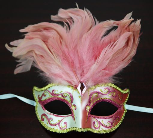 Patalone Feather Mask Pink