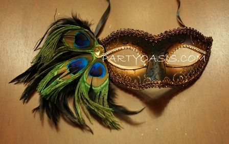 Peacock Eye Mask