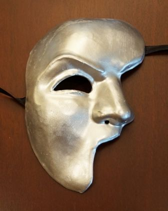 Phantom Of The Opera Mask Silver