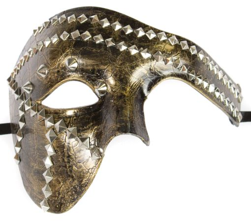 Phantom Stud Mask Antique