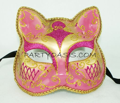 Pink Kitty Mask
