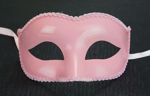 Basic Pink Eye Mask