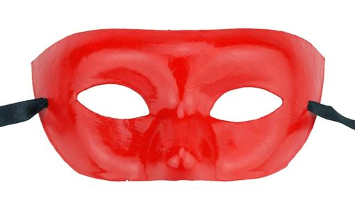 Plain Red Eye Mask