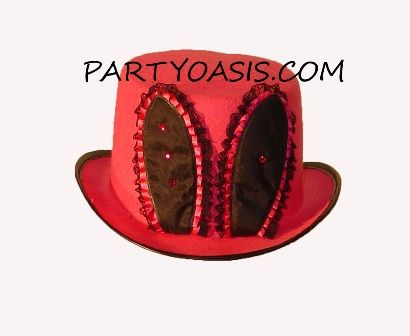 Red Playboy Bunny Hat