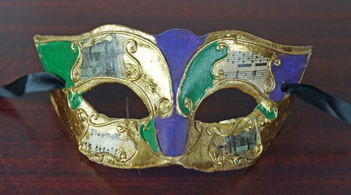 Promotional Mardi Gras Mask