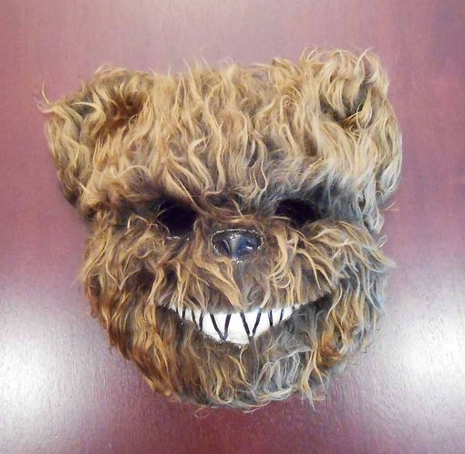 Psycho Bear Mask Brown