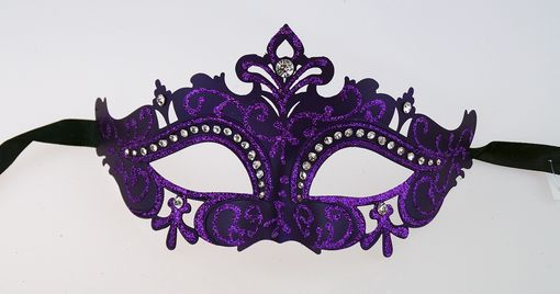 Juliet Purple Masquerade Mask