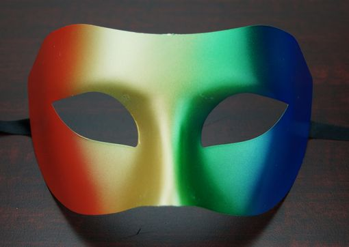 Rainbow Masquerade Eye Mask