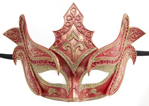 Red Warrior Masquerade Mask