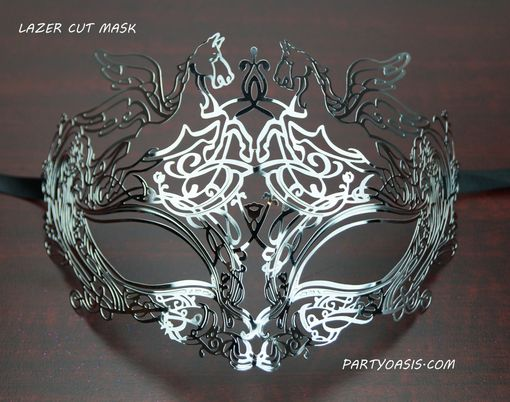 Roman Metal Lazer Cut Mask