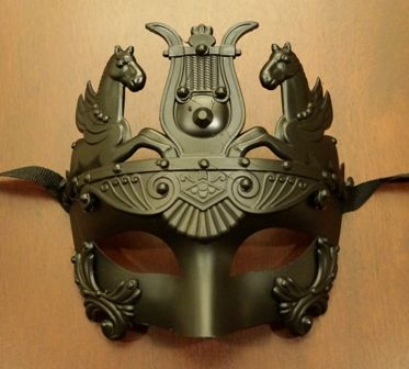 Roman Warrior Masquerade Mask