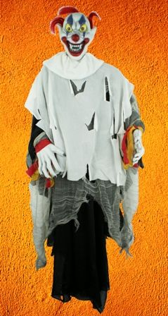 Scary Halloween Clown Decoration. Size 36 inches.