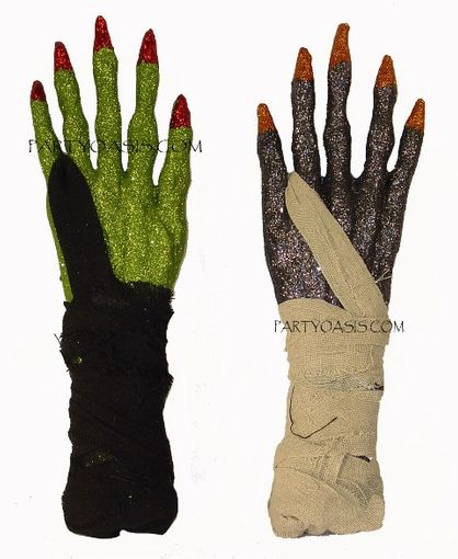 Severed Witch & Zombie Hands