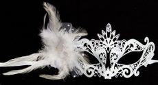 Venetian Princess Wedding Masquerade Mask