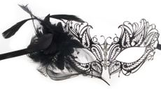 Metal Butterfly Feather Venetian Masquerade Party Eye Mask