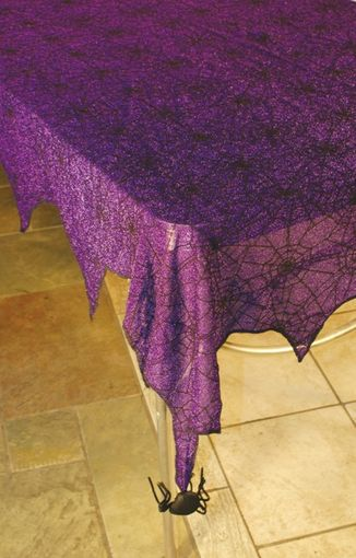 Shimmer Spider web Tablecloth