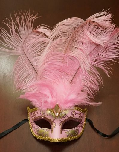 Show Girl Mask Pink