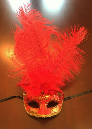 Show Girl Mask Red