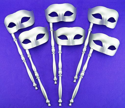 Silver Stick Mask Party Pack