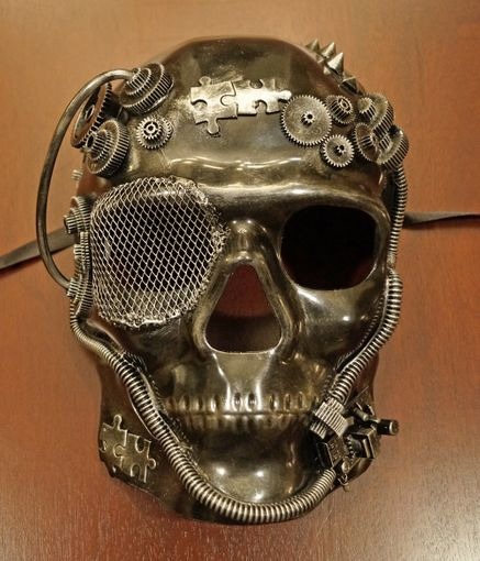 Skull Steam Punk Mask