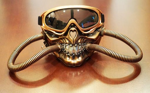 Solar Steampunk Mask Copper