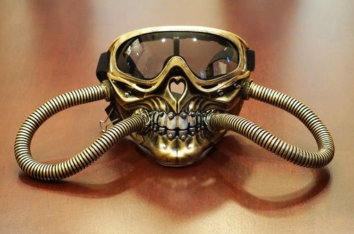 Solar Steampunk Mask Golf