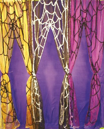 Spider Web Door Curtains