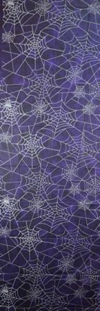 Spider Web Fabric Wall Decor