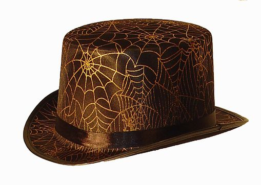 Spider Web Top Hat