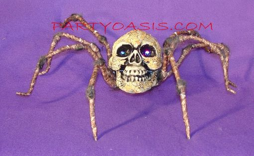 Spider with Skull Head