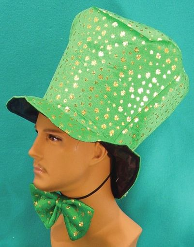 St. Patty's Hat & Bow Tie