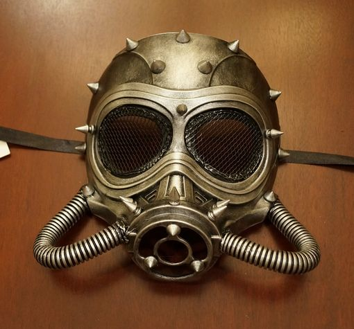Steam Punk Chem Mask Silver