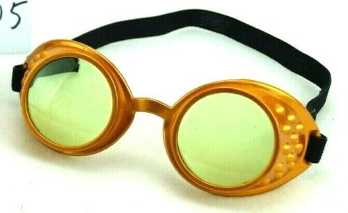 Steampunk Party Goggles Gold