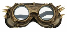 Steampunk Aviator Goggles Gold