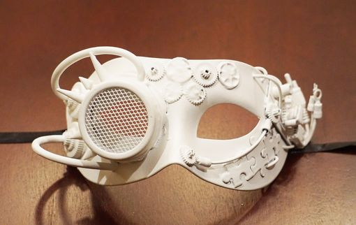 Steampunk Mask Unpainted