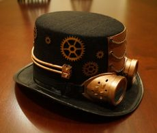 Steampunk Top Hat Copper