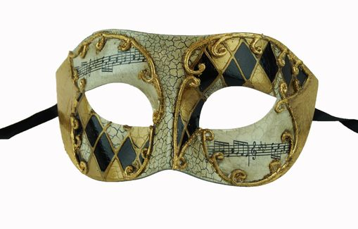 Tadius Men's Mask Gold