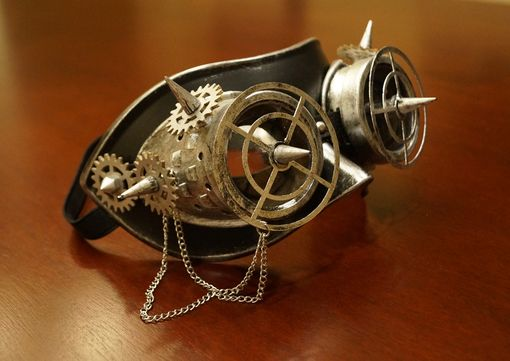 Trextor Steampunk Mask Silver