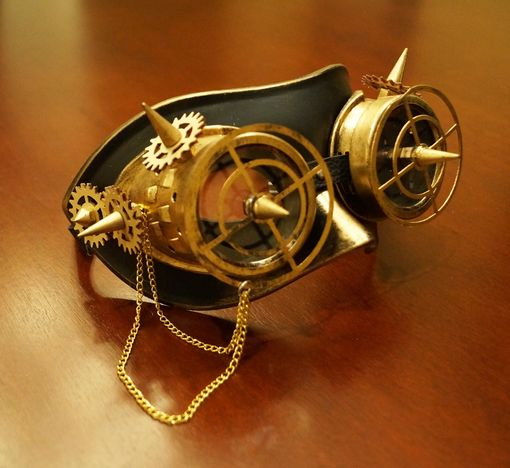 Trextor Steampunk Mask Gold