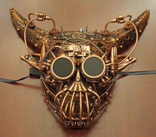 Tronic Steampunk Mask Copper