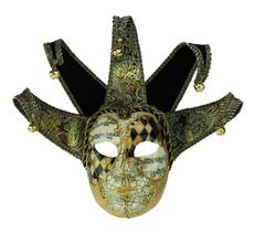 Ultra Jester Mask Gold
