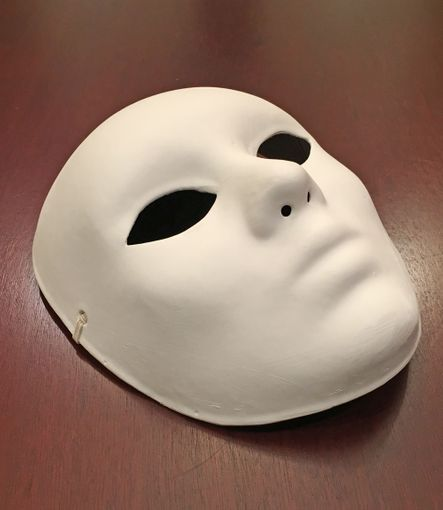 Unpainted Full Face Mask
