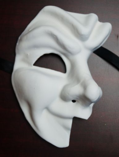 Unpainted Jester Phantom Mask
